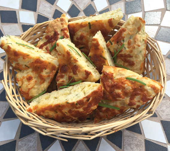 Try this easy cheesy bread