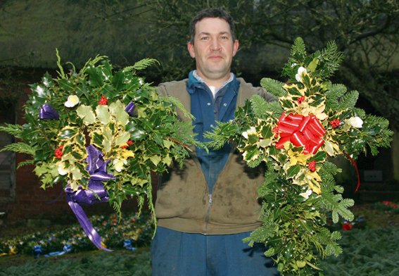 A wealth of wreaths