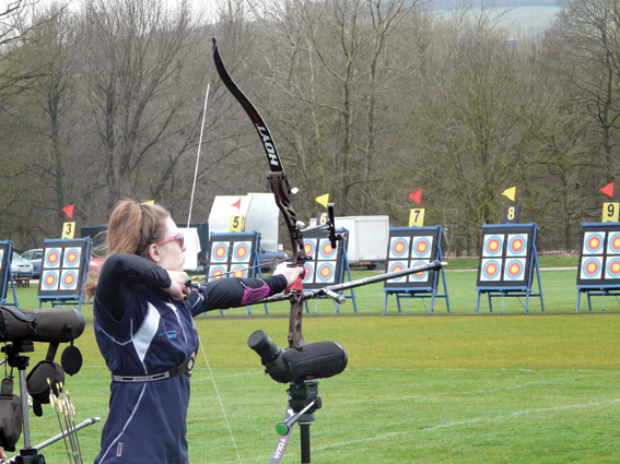 On target for team GB