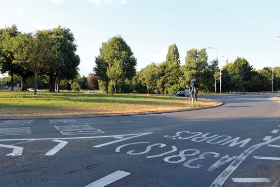Call for action on roundabout