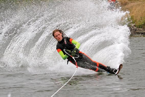 Water-skiing success