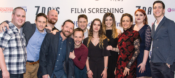 Village-made film gets premiere