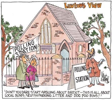 Lawton's View