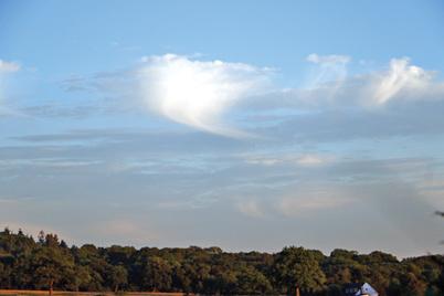 Virga clouds