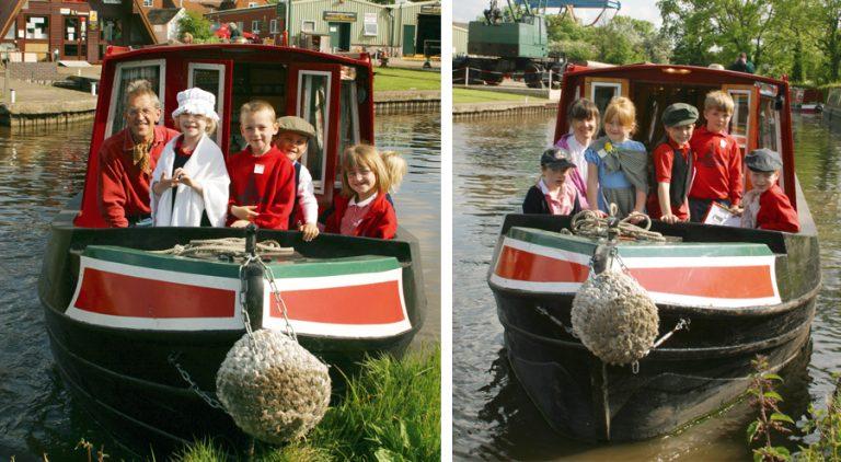 Slow boat to school