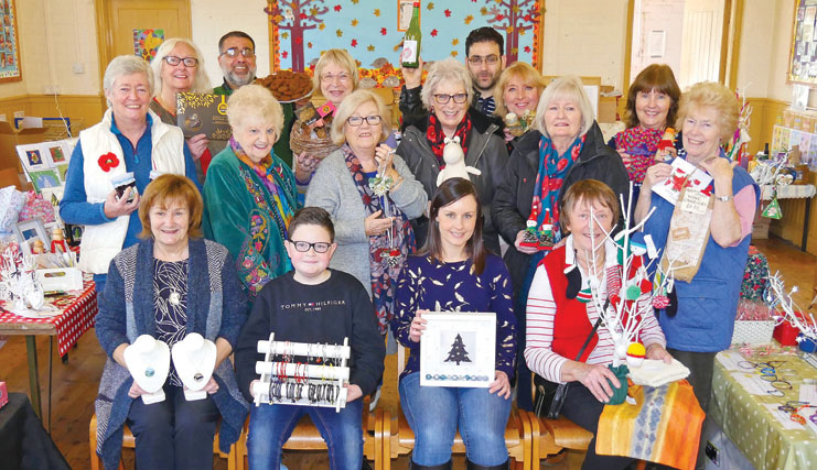 Crafters unite for festive fair