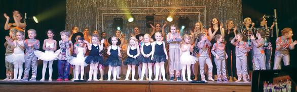 Dance stars light up stage