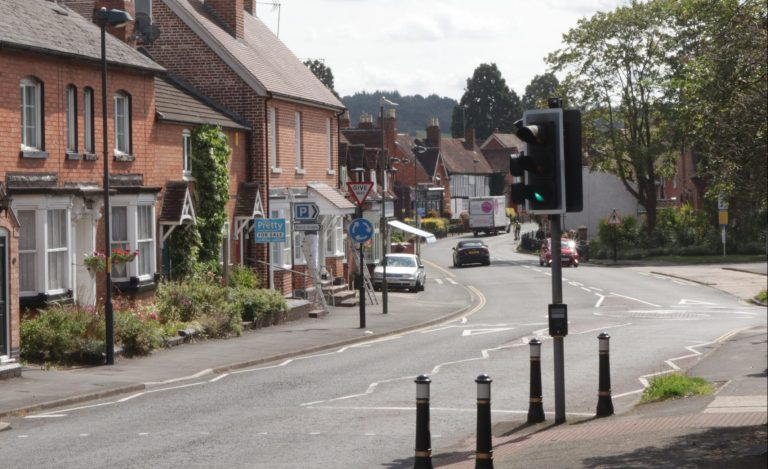 20mph zone plan for village