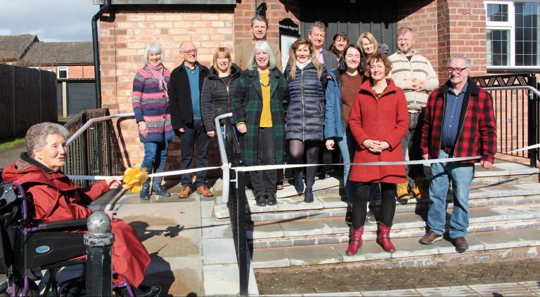 Village Hall ramps up access