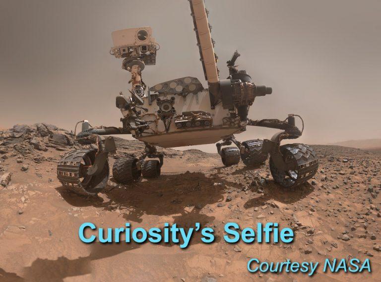 'Selfies' in space