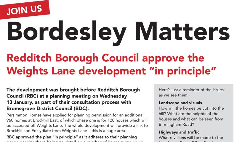 Bordesley Matters